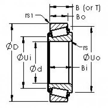 AST 3784/3730 tapered roller bearings
