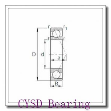 80 mm x 170 mm x 39 mm  CYSD 31316 tapered roller bearings